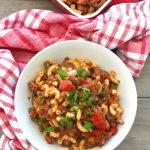 Southern-Style Tomato Mac and Beef