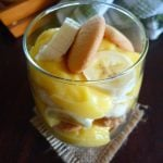 Homemade Banana Pudding is a rich creamy delicious Southern tradition that features delicious layers of rich, custard, homemade vanilla pudding, crisp vanilla wafers, and slices of ripe bananas. Homemade Banana Pudding is the perfect menu item for potlucks, picnics, and any family gathering or anytime for that fact; it's just that darn good