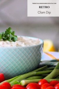 This simple recipe for Clam Dip was once a popular dip served with either salty Ruffle chips or veggies at some of the swankiest parties you can think of from the '50s, up till it managed to die off sometime during the '70s. The original Clam Dip recipe from the Kraft Music Hall show was made with simple ingredients such as minced canned clams, cream cheese, lemon juice, Worcestershire sauce, garlic, salt, and pepper.