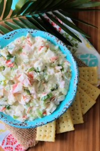 Creamy Crab Salad is one of the most delicious yet easiest semi-homemade salads you'll ever have the pleasure of making