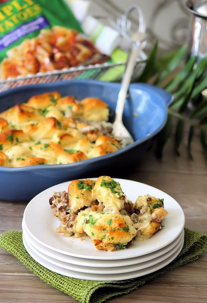 Southern Sausage and Biscuits Casserole