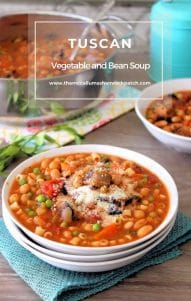 Tuscan Vegetable and Bean Soup