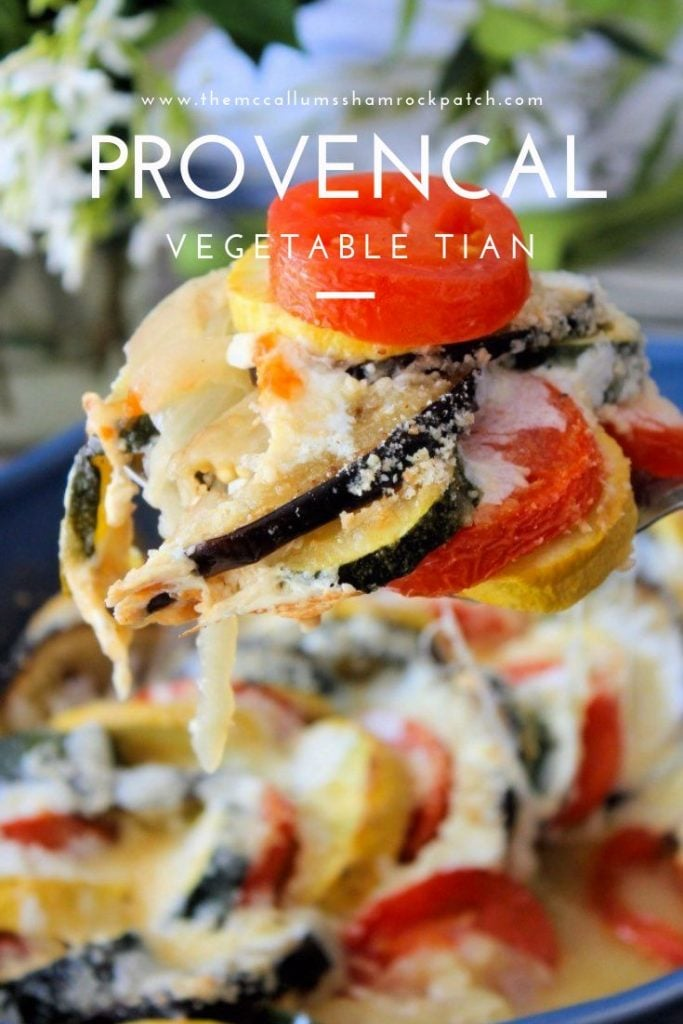 The remarkable looking Provençal Vegetable Tian is definitely a super simple showstopper you can make to impress your family and friends alike; made with organic garden fresh vegetables