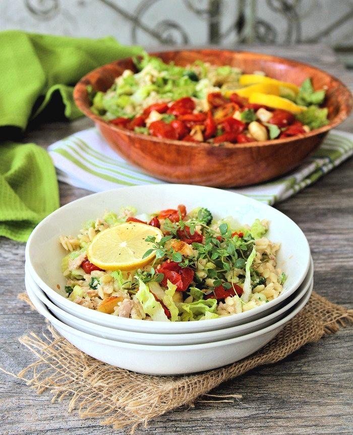 Tuna and Orzo Salad