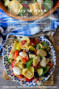 It's that time of year here in sunny Florida where we start bringing out our favorite salads, and Tortellini Salad is just one of them. It's the perfect salad for lunch, family gatherings, church potlucks, graduation parties; you name it this Tortellini Salad is guaranteed ROCK any gathering you take it to.