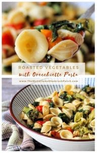 Roasted Vegetables with Orecchiette Pasta