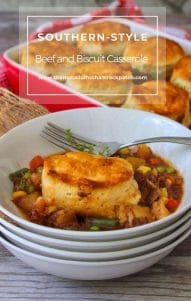 Beef and Biscuit Casserole
