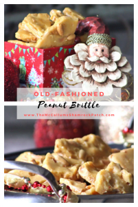No Southern Holiday would ever be the same without Homemade Peanut and Pecan Brittle on the table ready for those lovely family members and holiday guests. Making peanut and pecan brittle is a family tradition in our Southern homes during the Christmas Season.