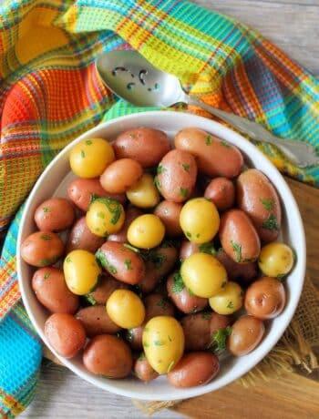 Classic Parsley New Potatoes
