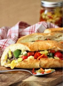 Classic Italian Beef Sandwiches
