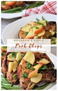 Apple Bourbon Pork Chops