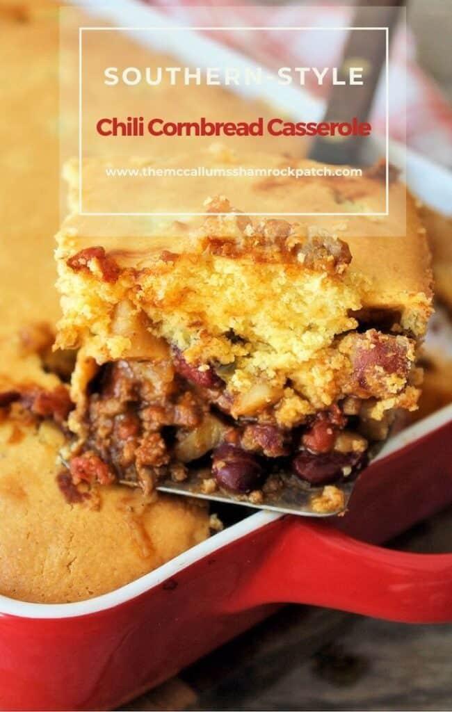Southern Chili Cornbread Casserole