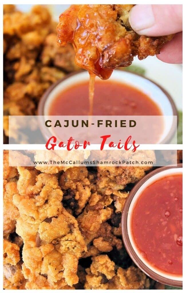 Cajun Fried Gator Tail