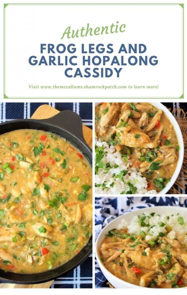 Frog Legs Garlic Hopalong Cassidy